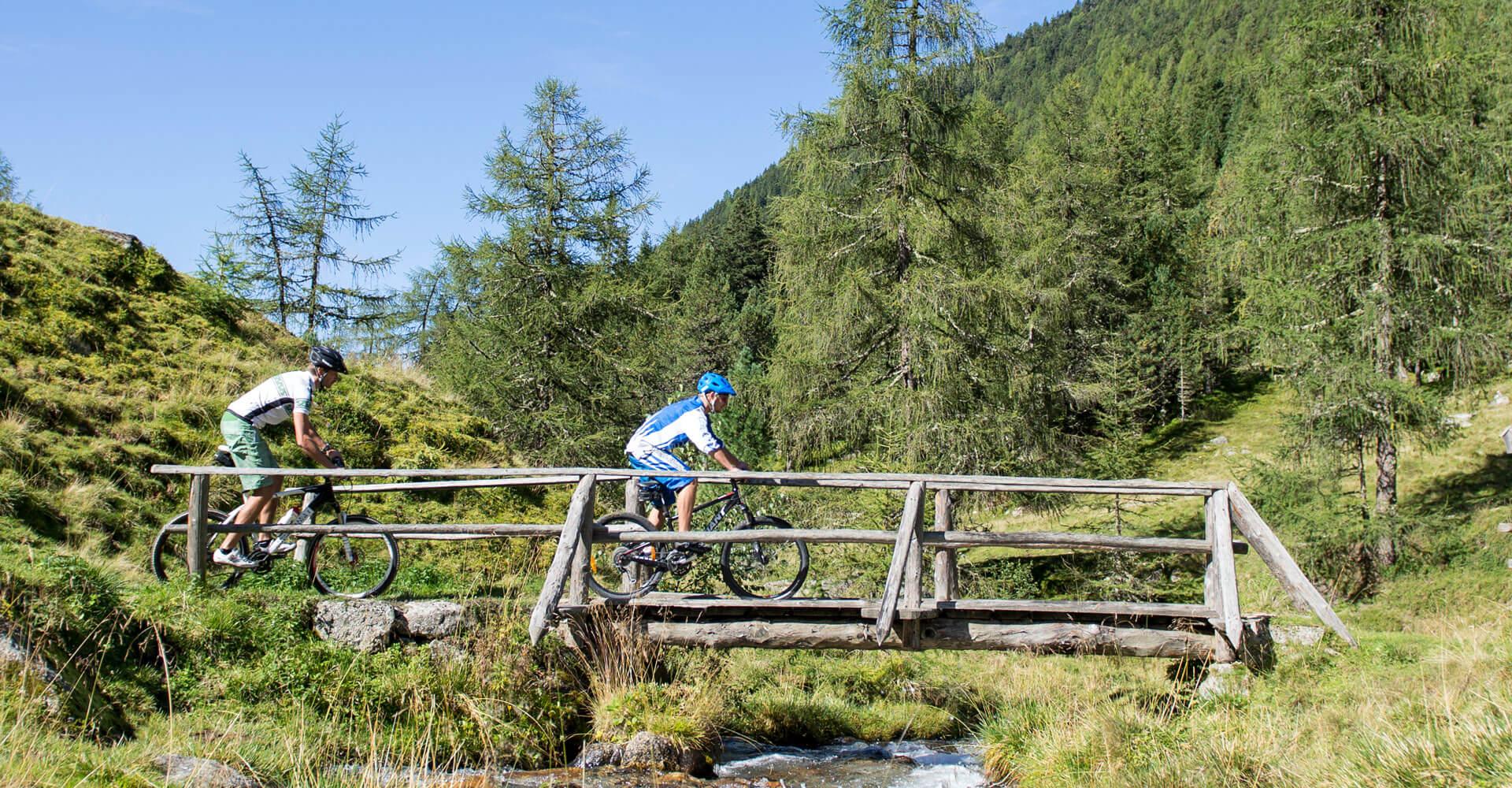 Mountainbike Gsiesertal Südtirol