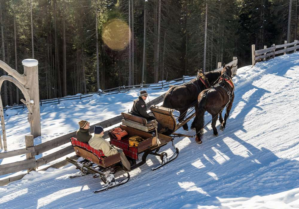 Winter experiences in Val Casies
